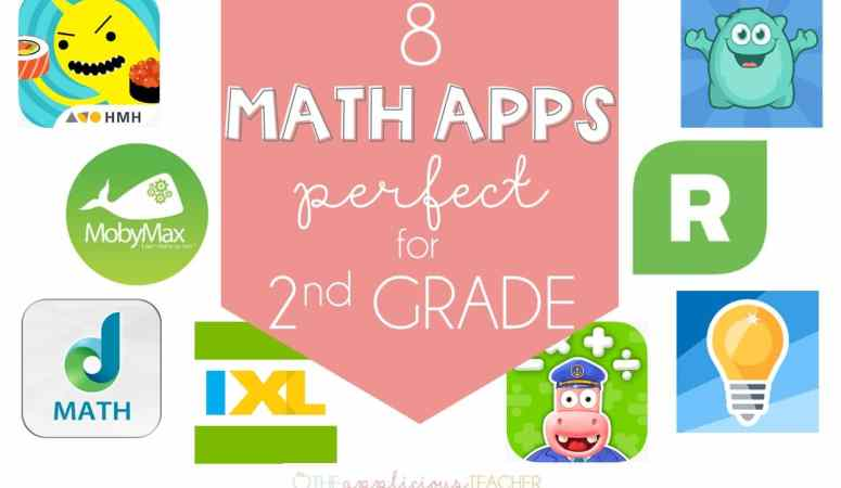 8 Math Apps Perfect for 2nd Grade