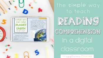 Easy Digital Reading Comprehension Lessons