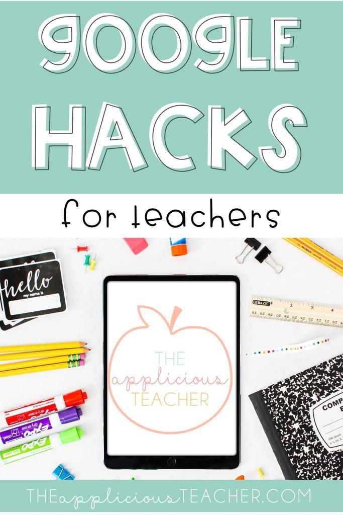 google hacks for teachers
