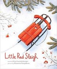 little red sleigh december read aloud