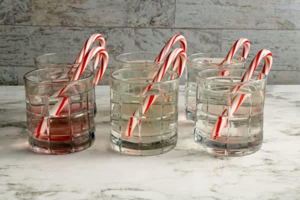 candy cane dissolving experiment