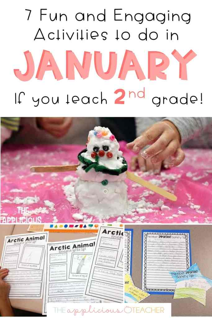 january ideas for 2nd grade