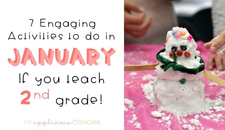 7 Winter Activities for January in 2nd Grade