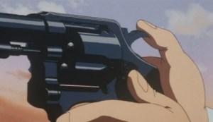 Cocking a revolver