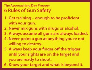 6 Rules of Gun Safety