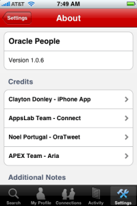 About Oracle People