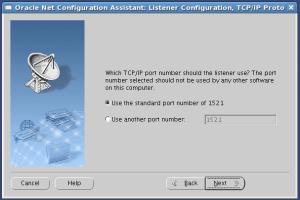 Listener port