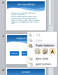 How to Organize Slides Into Sections In PowerPoint 2010