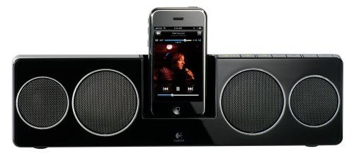 Logitech Pure-Fi Anywhere 2 Compact Docking Speakers for iPod and iPhone