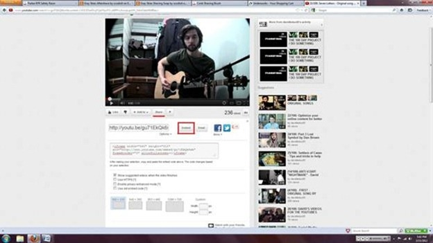 how to use YouTube videos
