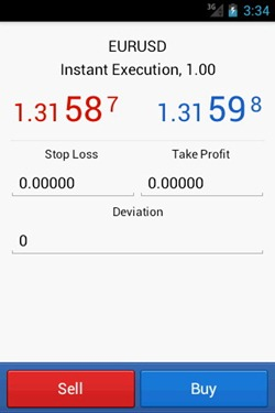 MetaTrader 5 for Android 3