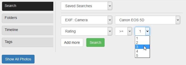 Cloud Photo Backup Tool PhotoKeeper Search