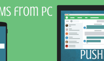 Send SMS from PC to Mobile Contacts with PushBullet