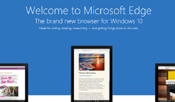 Microsoft Edge Browser Feature Look