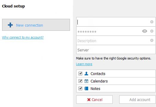 adding gmail credentials