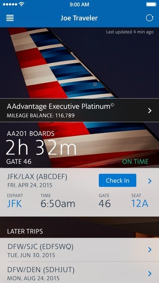 American Airlines - airlines apps