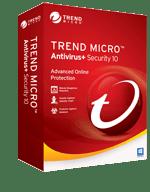 Trend Micro Antivirus+ Security 10
