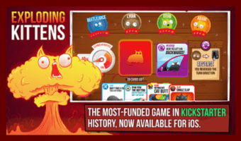 Exploding Kittens The Official Game is Out for iOS