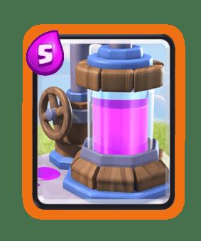 Clash Royale Cards in Arenas - elixir Collector