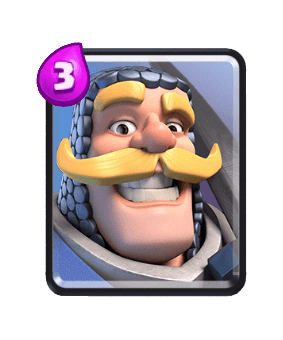 Clash Royale Troop Cards - knight