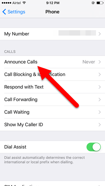 How to Get Siri to Announce Name of the Incoming Caller