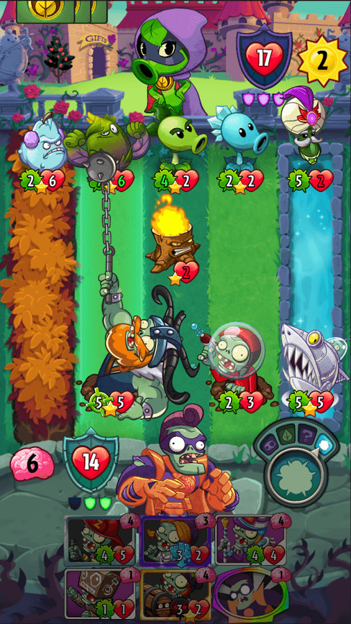 plants vs zombies heroes