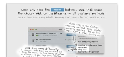 Disk Drill mac file recovery