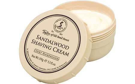 luxury shaving soap