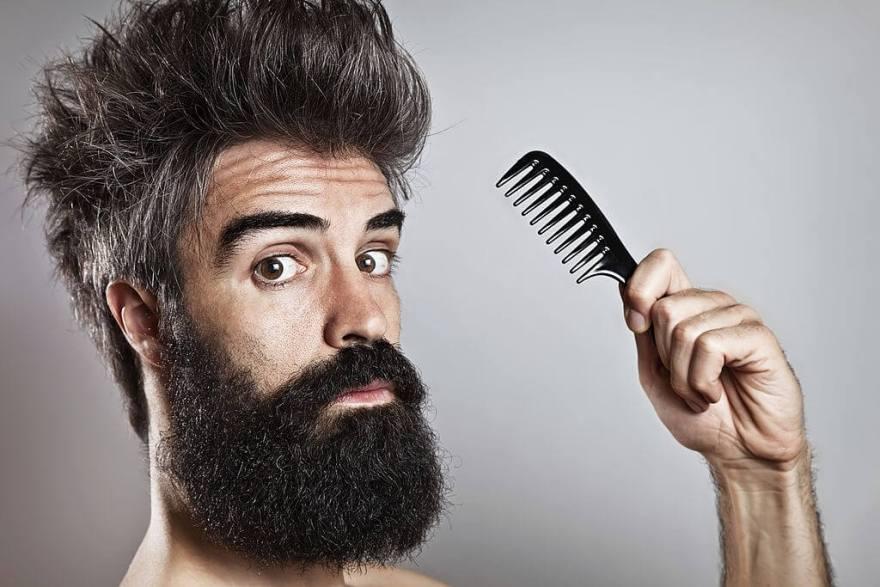 Ways to Comb Your Beard