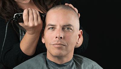 how to shave your head with electric razor