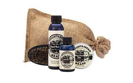Beard Grooming Care Kit by Mountaineer Brand