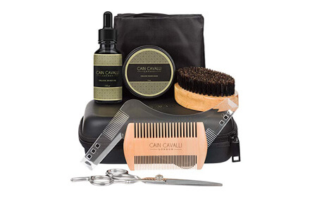Cain Cavalli Premium Beard Grooming Kit