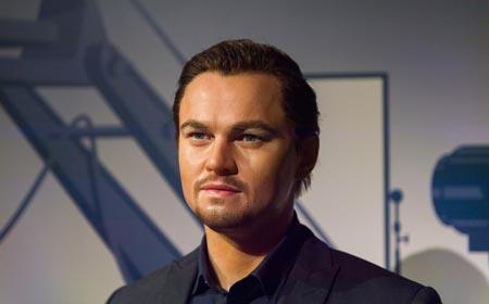 Leonardo DiCaprio stubble beard