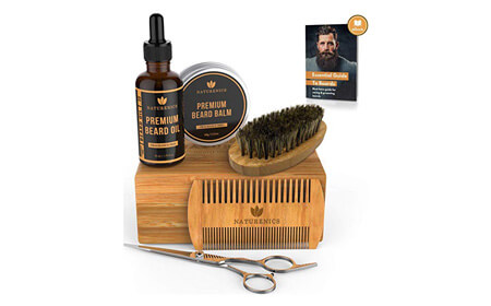 Naturenics Premium Beard Grooming Kit