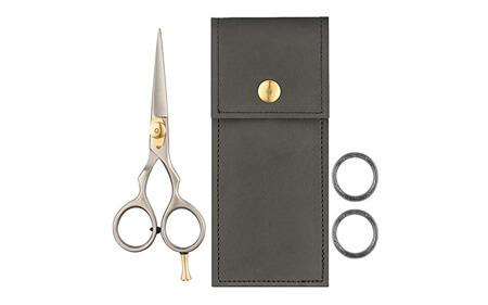 Japanese Steel Razor Edge Beard & Mustache Scissors