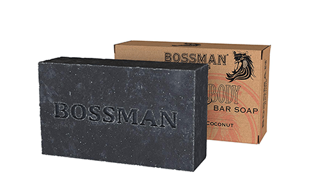 Bossman 4-in-1 Bar Soap