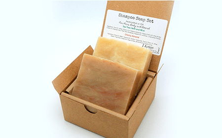 Aptos Trading Company Shampoo Soap Set