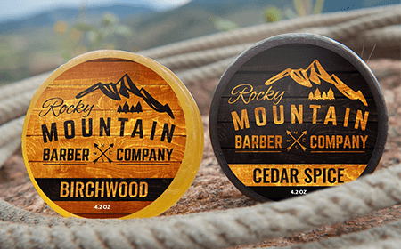 Rocky Mountain Barber Company Soap Bar