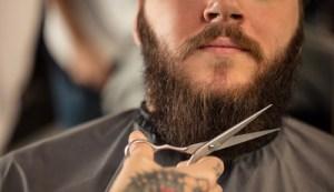 beard scissor