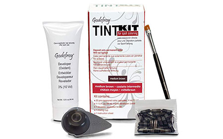 Godefroy Professional Tint Kit, Medium Brown