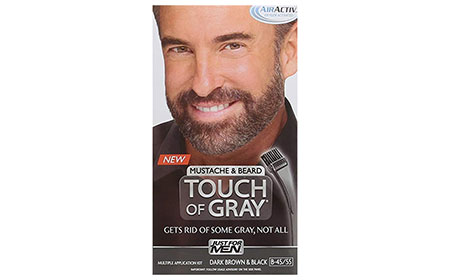 Just for Men Touch of Gray Mustache and Beard Color
