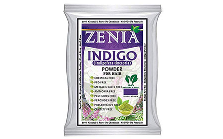 Zenia Indigo Powder Hair/Beard Dye