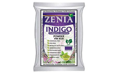 Zenia Indigo Powder Hair/Beard Dye