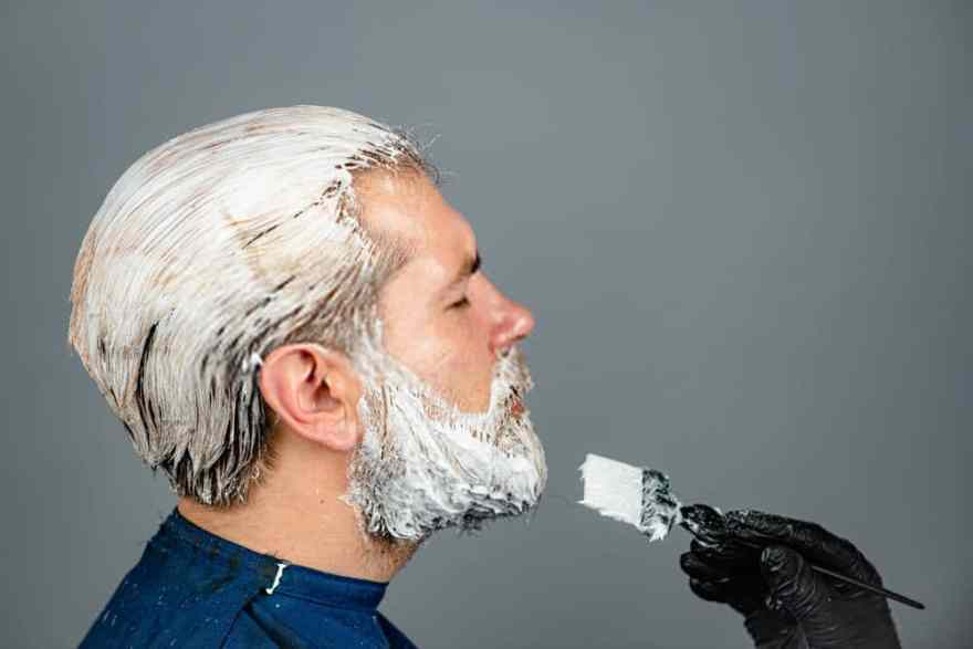 Beard Dyeing