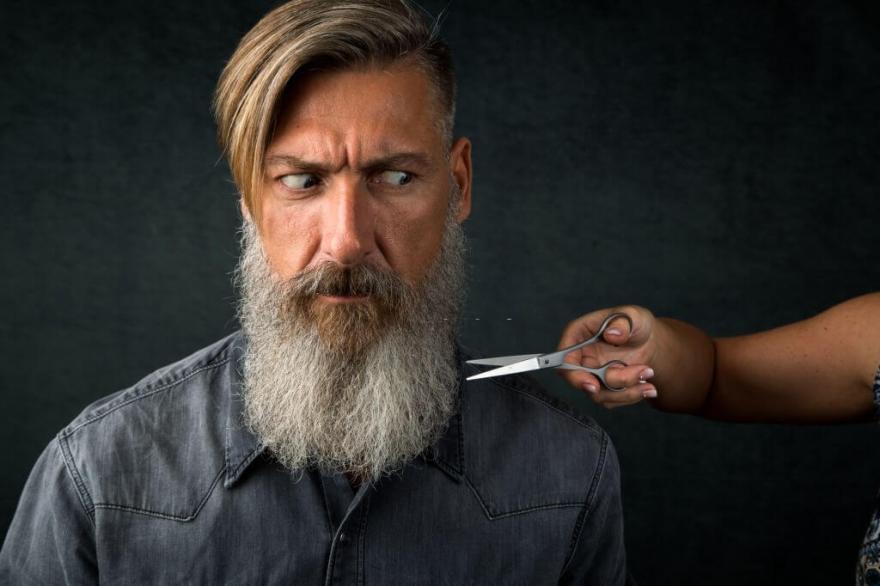 Scissors VS Beard Trimmer