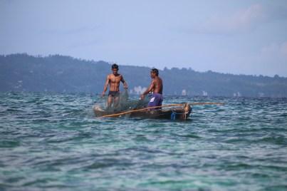 "Bajau ""ngambaj"" fishermen, Sanpela, Wakatobi, Indonesia"