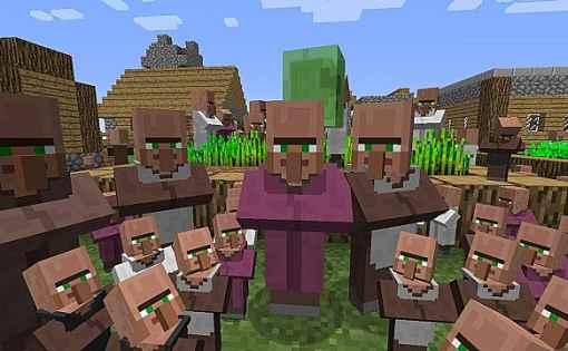 Minecraft - Como mantener Aldeanos (1.14.4) 2