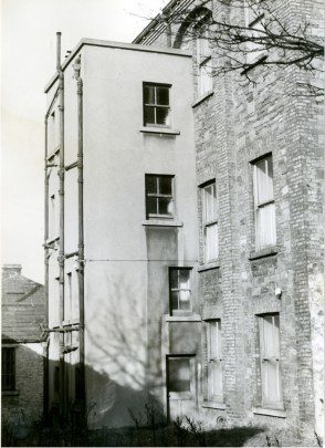 Rear view of Nurses' Home from south-west (note the kitchen extension is still present). Source: Military Archives