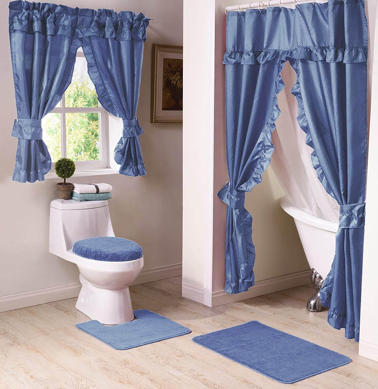 10 bathroom window curtain ideas 2021
