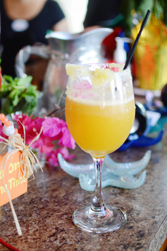 Ginger Peach Mimosa from Chill Bar